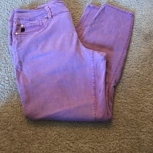 Torrid Colored Denim Jeggings